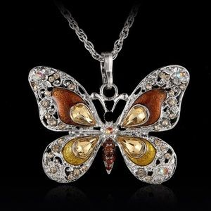 Jewelry - NEW | Butterfly Pendant Necklace